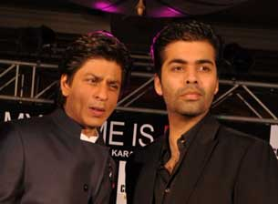 karan johar and shahrukh khan