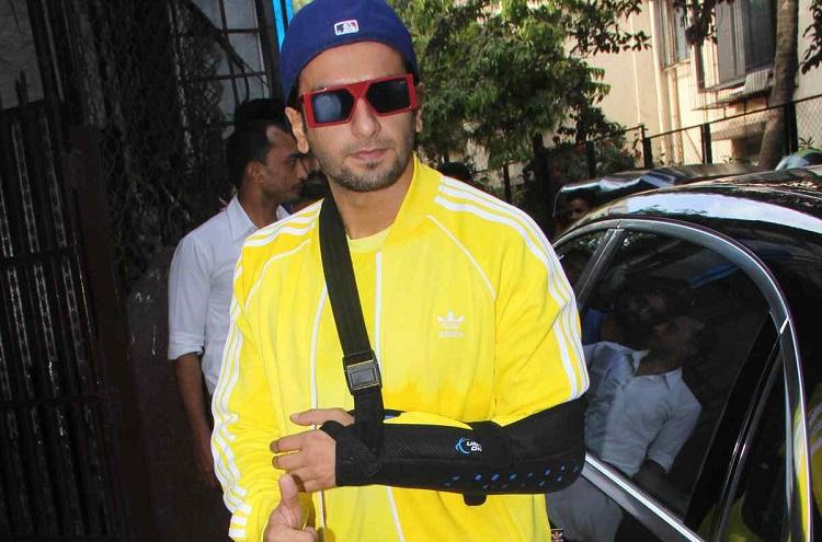 Image result for ranveer singh badly injured