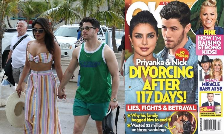 Priyanka Chopra and Nick Jonas Heading for a DIVORCE? Report