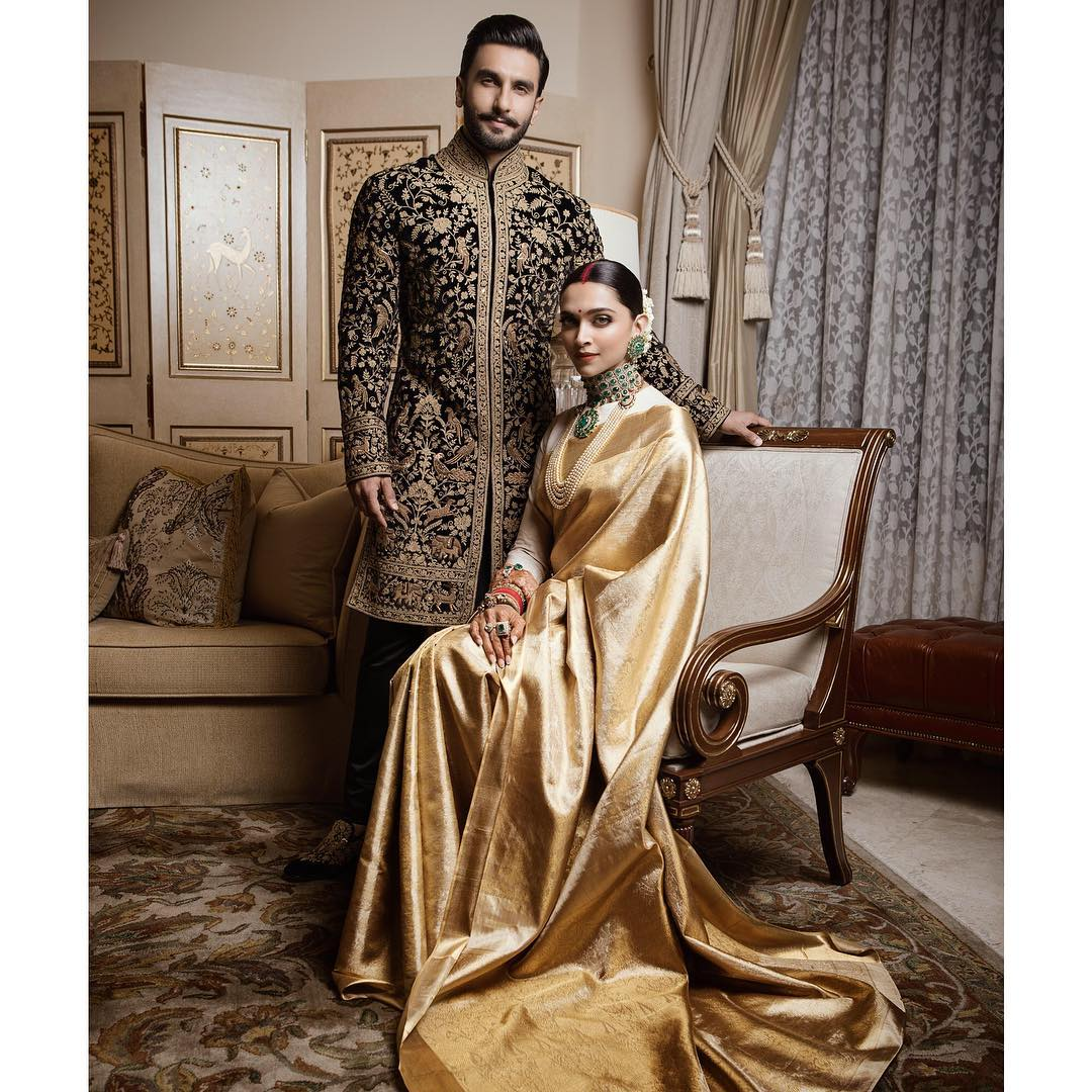 Ranveer-Deepika's ELEGANT ROYAL LOOK for their Reception ...