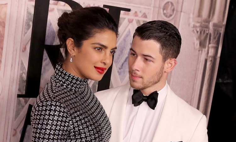 bollywood actress priyanka chopra is soon to be married to american singer nick jonas the actress had recently attended a broadway musical show with her