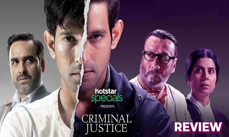 Criminal Justice' better than 'Sacred Games' | India Forums