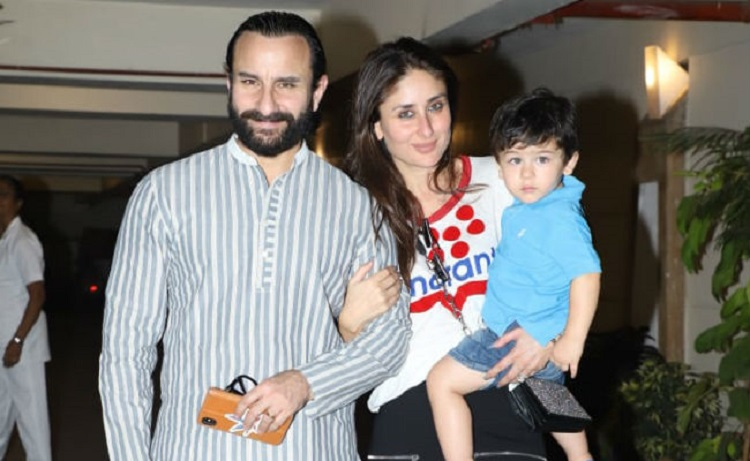 kareena with saif taimur