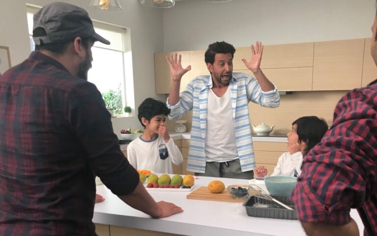 Hrithik Roshan is SPOILING these CUTE kids & they are NOT