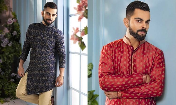 845620cf32 Indian skipper, Virat Kohli recently spoke about his favorite looks for the  festive season as he launched a Diwali campaign called - India Ethnic Week  - by ...