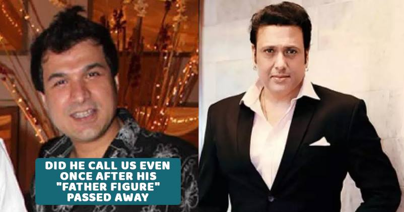 govinda reacts to kader khan son sarfaraaz