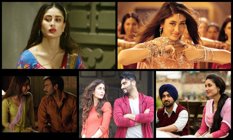 different roles played by kareena kapoor