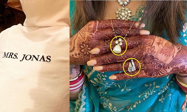 Priyanka Flaunts Being Mrs Jonas With A Mangalsutra Wedding Ring