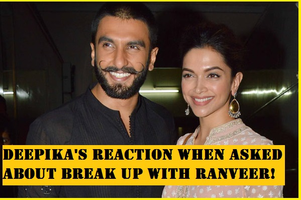 See how Deepika REACTS when asked about break up with