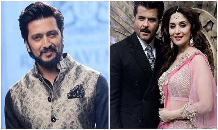 ritiesh deshmukh says its a dream working with anil kapoor and madhuri dixit