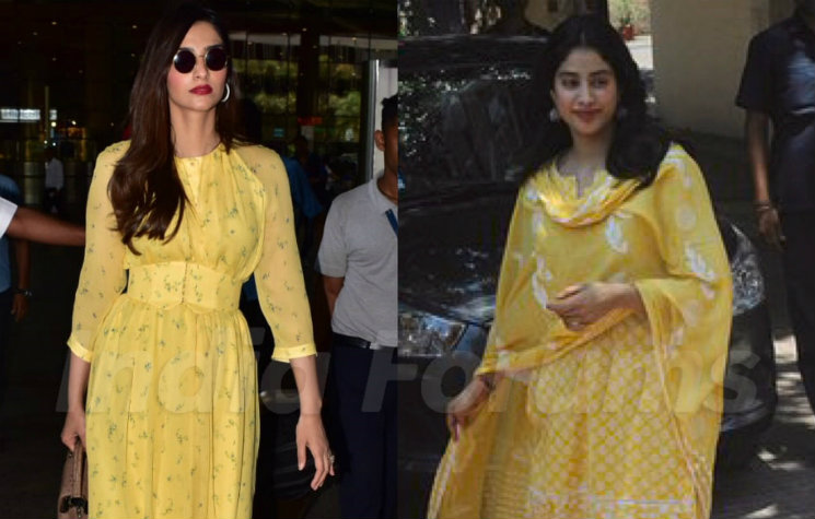 928d88881f Sonam Or Janhvi, Which Kapoor Girl Is Rocking This Yellow?