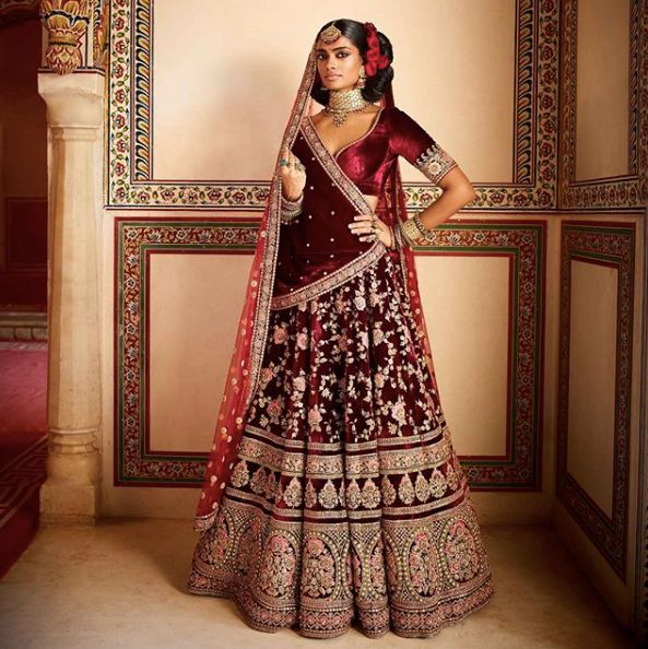 Sabyasachi Bridal Lehengas Deepika Padukone Can Don For ...