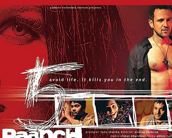 paanch movie poster