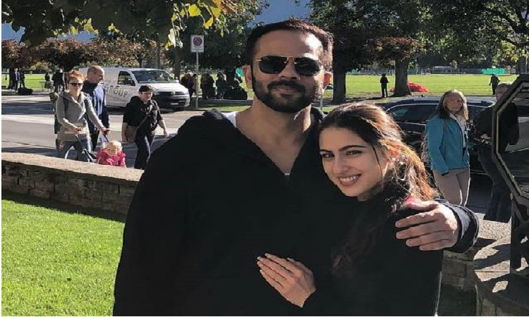 rohit shetty says sara is a combination of these two actreses