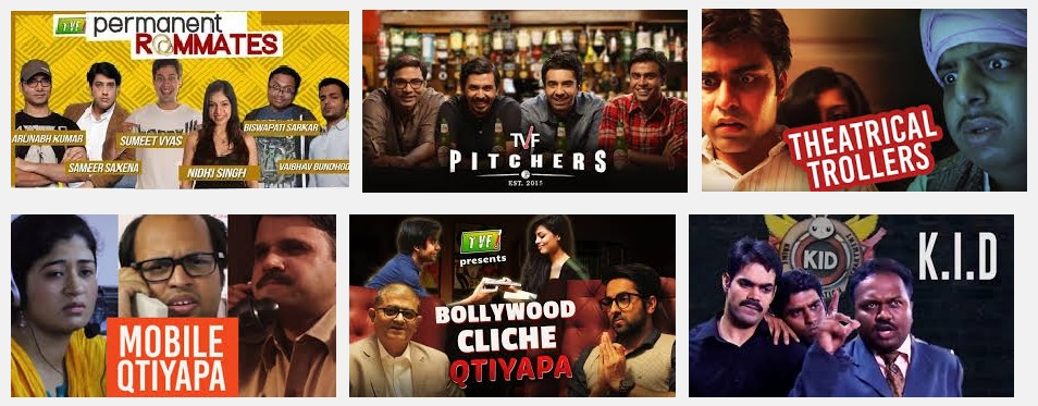 tvf permanent roommates cast