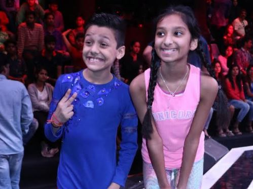 The sets of 'Super Dancer Chapter 2' recently had an innocent guest