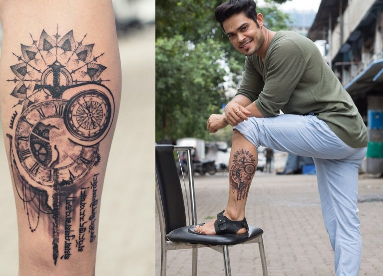 Check Out The Story Behind Kunwar Amars Latest Tattoo