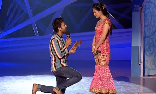 Match Making On Nach Baliye Stage India Forums