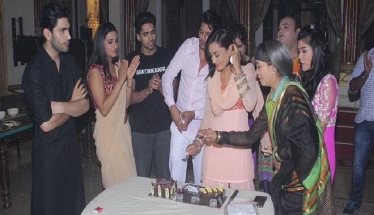 Qubool Hai cast' special surprise for Surbhi Jyoti! | India