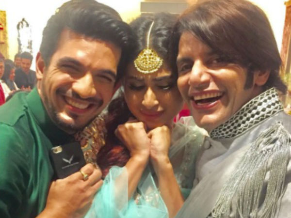 Mouni Roy, Arjun Bijlani and Karanvir Bohra return to Naagin 3