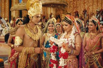 Sita Swayamvar' in Ramayan on NDTV Imagine | India Forums