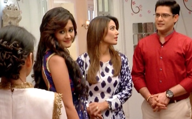 What will be the outcome of the Naira - Kartik - Gayu love triangle