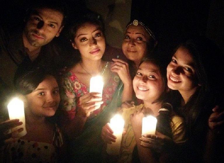 When the unit of Diya Aur Baati Hum enjoyed an unexpected