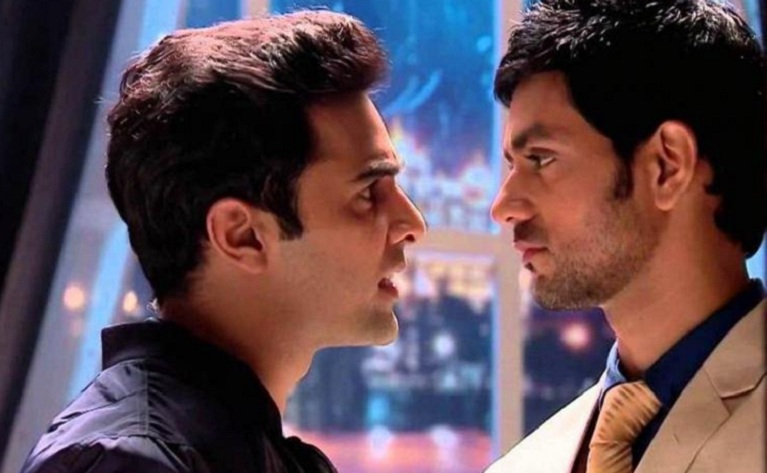Image result for Fight between RV and Chirag in Meri Aashiqui