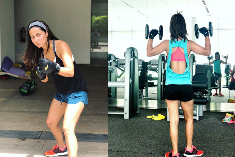 Tv actresses sweat it out in the gym in style | India Forums