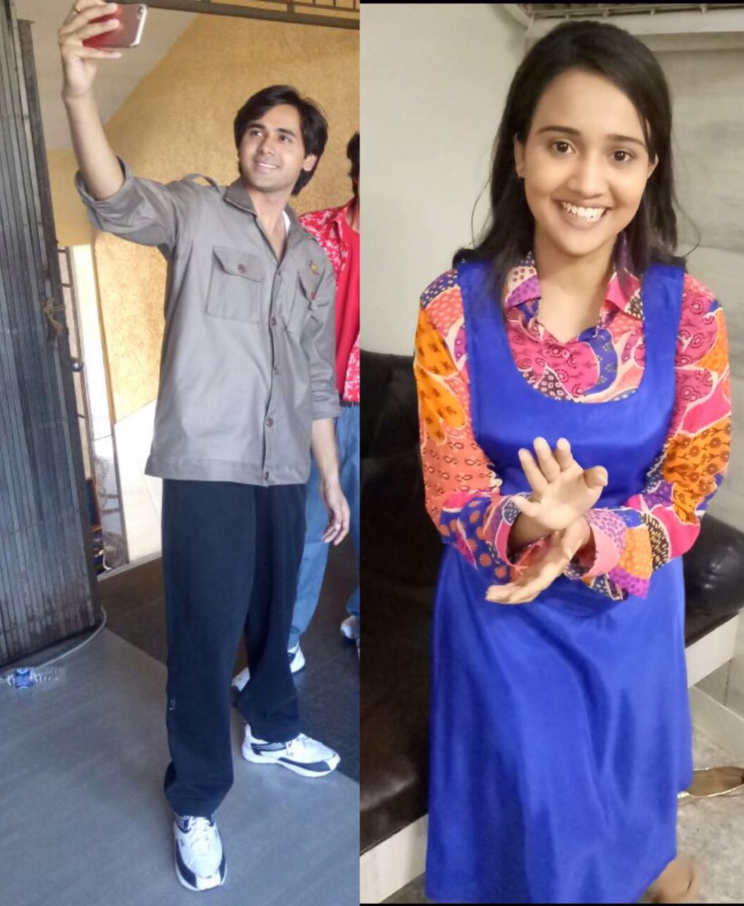 Here are the looks of Randeep Rai & Ashi Singh for the college track