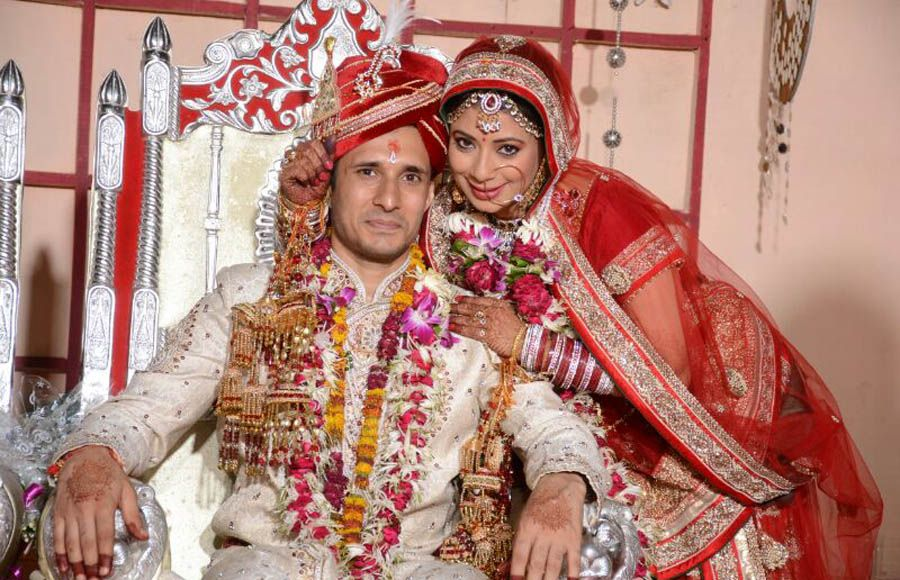 Ajay Sharma And Malini Kapoor Celebrate Their First Marriage